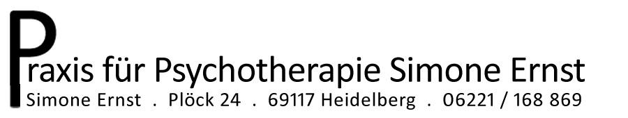 Logo Psychotherapie Praxis Simone Ernst in Heidelberg